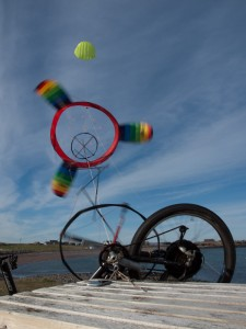 Daisy Kite Spinning a generator, Airborne wind energy, flying wind power