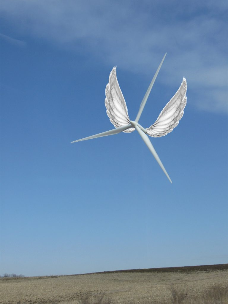 A flying wind turbine?